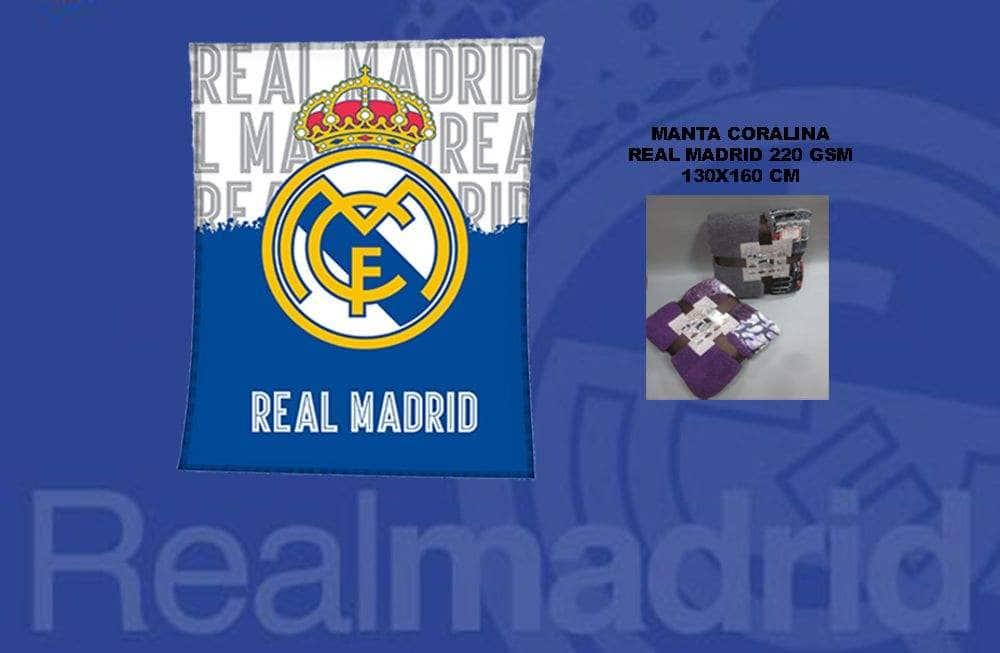 Manta Coralina Real Madrid