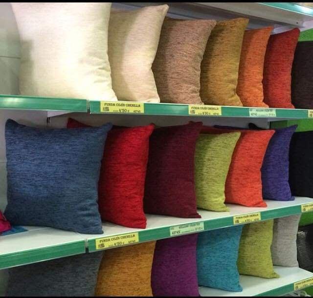Cojin Chenilla TextilesLD